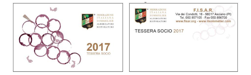 """FISAR Vincitori """"Progetta la Tessera"""""""